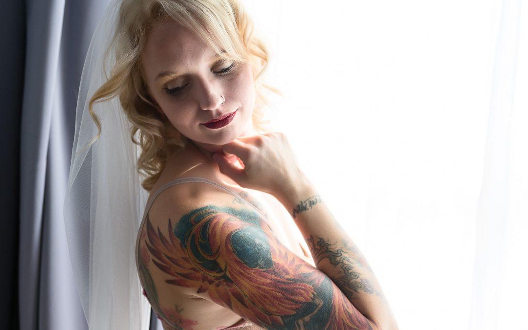 Houston Boudoir:  Sexy Images with Tattoos