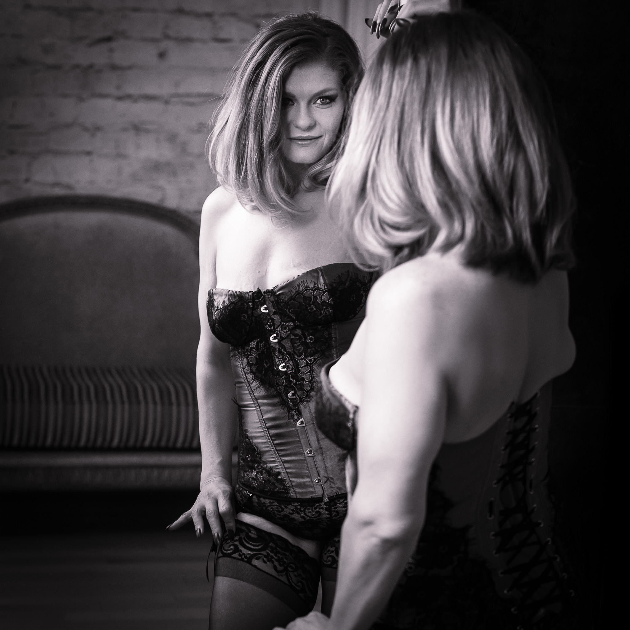 Victoria Secret Look in Boudoir Photography, Houston, Texas