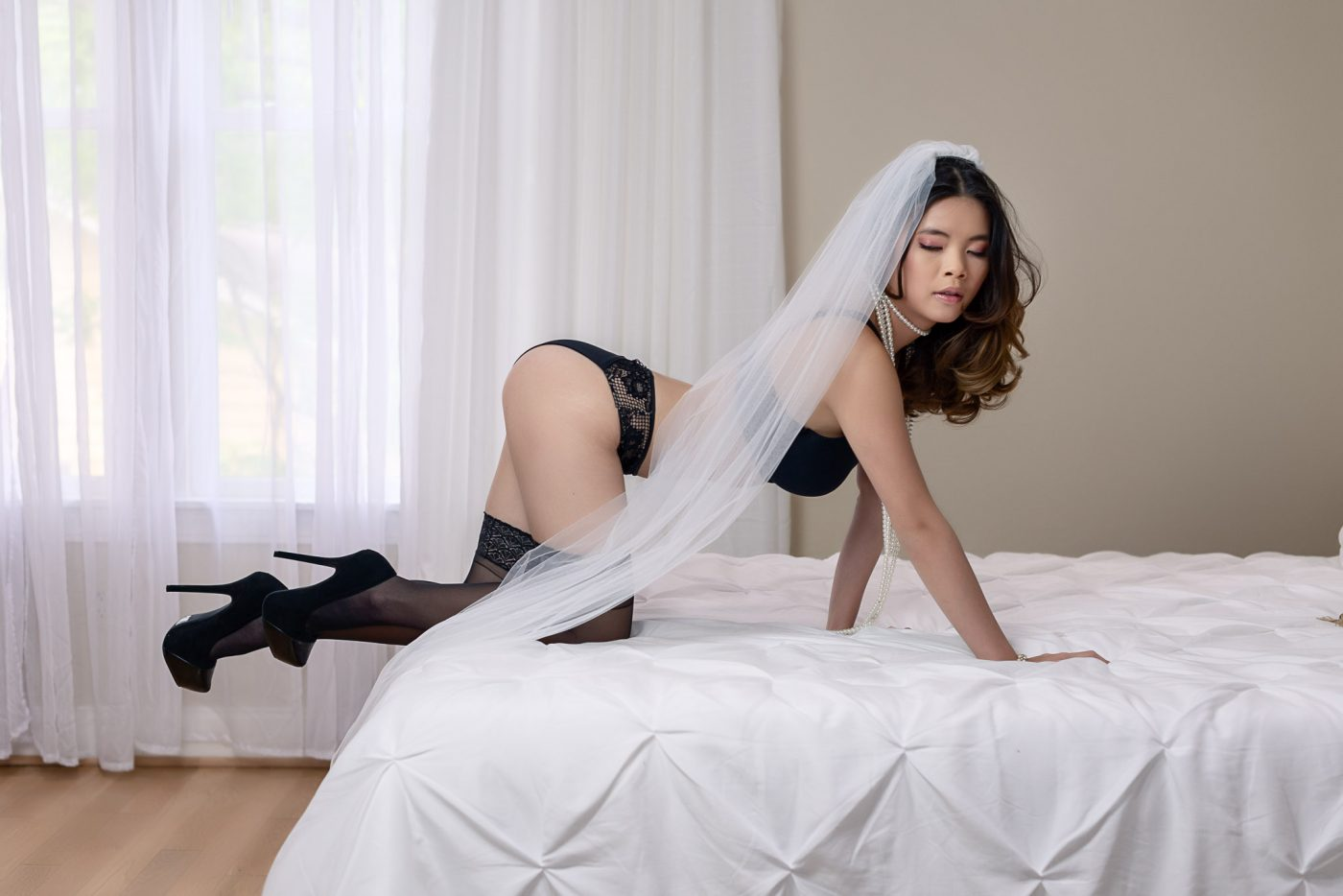 Sexy Bridal Boudoir Images
